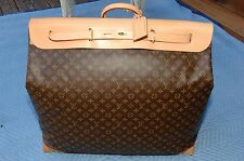 """Louis Vuitton Steamer Bag 65 (26""""x24""""x11""""), Small Step From New, Used Twice"""