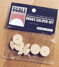 SCALE MOTORSPORT 1/24 Brembo Style Brake Caliper Set (4) (Resin) SMO8127