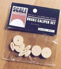 SCALE MOTORSPORT 1/24 Brembo Style Brake Caliper Set (4) (Resin) SMO8127