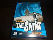 THE SAINT-SET 1-Roger Moore is Simon Templar who defends world against injustice