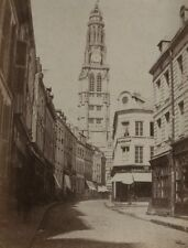 c1860 Eugène ou Adalbert CUVELIER vue de ARRAS Albumen negative paper EXC