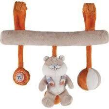 ♪ - Barre d'Activités Boulier William & Henry Beige Orange Noukie's Noukies