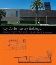 Key Architecture: Key Contemporary Buildings : Plans, Sections and Elevation...
