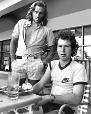 BJORN BORG AND JOHN McENROE TENNIS LEGENDS - 11X14 PUBLICITY PHOTO (LG144)