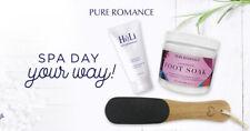 Pure Romance Lavender Foot Spa Set