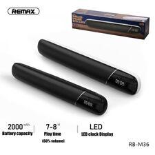 RB-M36 Portable Desktop Wireless bluetooth Speaker Heavy Bass Alarm Clock  ~