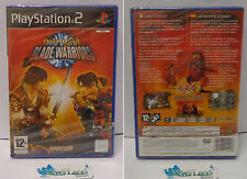 Console Game SONY Playstation 2 PS2 PAL ITALIANO NUOVO - ONIMUSHA BLADE WARRIORS