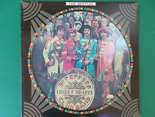 LP THE BEATLES Sgt PEPPERS LONELY HEARTS PICTURE DISC ORIGINAL CAPITOL 1978 LOOK