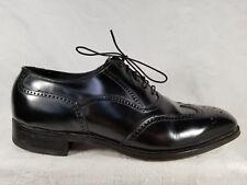 Florsheim Black Leather Wingtip Brogue Oxford Dress Formal Men's Shoe Size 9 C