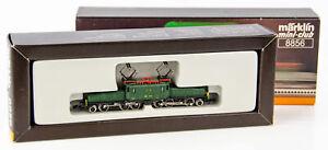 Vintage Marklin Mini-Club 8856 Z Scale Electric Crocodile Locomotive 13302