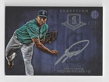 2014 Bowman Inception Taijuan Walker Autograph #3/25 Mariners Auto
