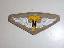 b5592 WW2 US Army Air Force USAAF Flight Nurse Wing Khaki cloth R8A