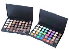 40 Colores Paleta de Sombra de Ojos Shimmer de Perla + Mate Eyeshadow Cosmético