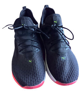 ❤️Puma Jaab XT Black Lightweight Training Running Shoes Trainers 19223807 UK 6❤️