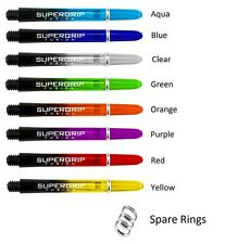 Harrows SuperGrip Fusion Dart Stems / Shafts - Choose Colour and Pack Size