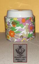 Ceramica Franco Pozzi Gallarate - Zuccheriera con decoro floreale