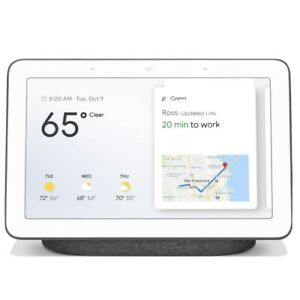 Google Nest Hub with Google Assistant - Charcoal (Brand New)