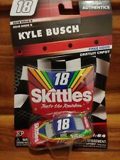 2018 Wave 8 Kyle Busch Skittles Darlington 1/64 NASCAR Authentics $1 COMBINED