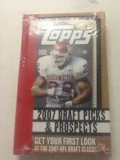 2007 TOPPS DRAFT PICKS & PROSPECTS Factory Sealed HOBBY Box Peterson RC ?