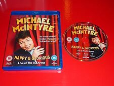 MICHAEL McINTYRE - HAPPY AND GLORIOUS LIVE AT THE O2 ARENA - NEW BLU RAY DISC
