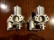 Set of rebuilt SU HS8 carbs.
