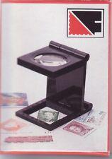 Lindner Fadenzähler  schwarz  7-fach mit Skala  Linsendurchmesser 28 mm      S37