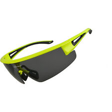 RockBros Polarized Cycling Glasses Eyewear Bike Goggles Sunglasses UV400 Green