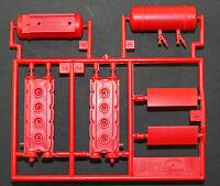Pocher 1:8 Zylinder Teile am Spritzling Ferrari F40 Baugruppe R K55 A3