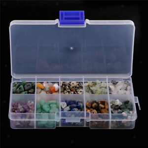 1 Box Natural Tumbled Stone Beads Chip Gemstone Bead for DIY Jewelry Making