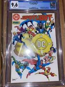 DC SPOTLIGHT #1 CGC 9.6 (1st APP BATMAN DARK KNIGHT & THE WATCHMEN KEY DC COMIC)