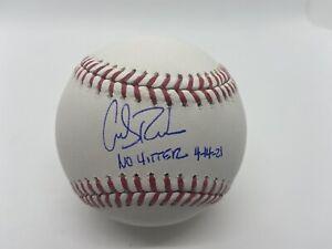 Carlos Rodon Autographed ROMLB Rawlings Baseball White Sox ! No Hitter 4-14-21