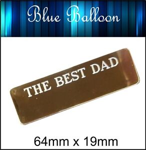 Personalised Plaque Gold color Engraved 64x19 christening, wedding, photo,baby