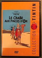 """DVD+ livret. Tintin : """"Le crabe aux pinces d'or""""  (GW)"""