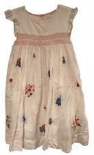 BNIP Mini Boden Lilac Floral Print Sun Dress 2-3 Years