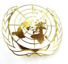 UN UNITED NATIONS CLASSIC GENUINE REGIMENTAL STYLE CAP / BERET BADGE