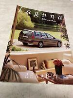 Renault Laguna Nevada 1996 Auto-école catalogue prospectus brochure dépliant