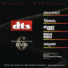 DTS 5.1, 6.1 & ES Demo #6  Genuine Very Rare Demonstration DVD Like New