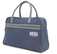 DIESEL PARFUMS DARK BLUE DUFFLE / TRAVEL / HOLDALL / WEEKEND  BAG - NEW