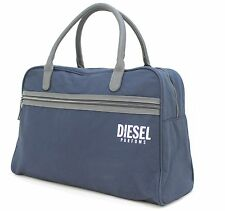 DIESEL PARFUMS DARK BLUE DUFFLE / TRAVEL / HOLDALL / WEEKEND  BAG FOR MEN - NEW