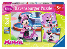 RAVENSBURGER JIGSAW PUZZLE Disney Minnie Mouse 3x49 PIECES 09338