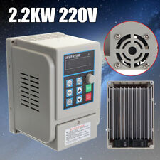 2.2KW 3HP 12A CNC Variable Frequency Drive Inverter Single To Three Phase 220V
