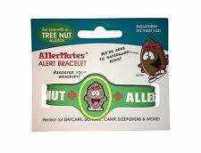 AllerMates TREE NUT Allergy Wristband Medical Alert ID Pollen Pine Tree Bracelet