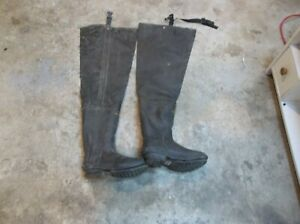 Hip Waders Boots Size 10 Insolated 400 with Thinsulate
