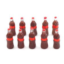 10pcs Dollhouse Miniature Mini Coke Model Toys Doll drink Kitchen Toy