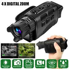 4X Zoom Digital HD Night Vision Infrared Hunting Monocular Telescope Waterproof