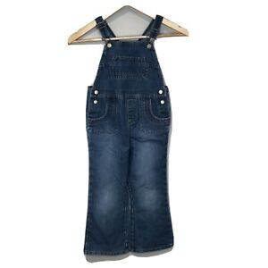 Old Navy 5t Overalls Girls Denim Bibs