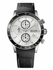 NEW HUGO BOSS HB 1513403 MENS RAFALE CHRONOGRAPH WATCH - 2 YEAR WARRANTY