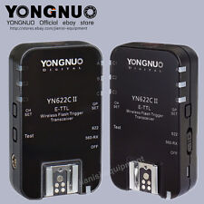Yongnuo YN-622C II ETTL wireless flash trigger Transceiver for Canon/560TX RF603