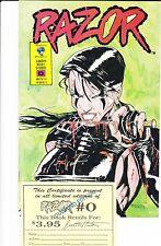 RAZOR # 0 MATURE READERS (PORT REDUIT SUR COMMANDE GROUPEE) LIMITED EDITION !!!!
