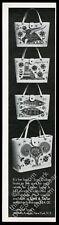 1969 Enid Collins Aries Pisces Aquarius Capricorn bag purse photo print ad